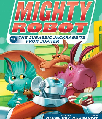 Ricky Ricotta's Mighty Robot vs. The Jurassic Jackrabbits From Jupiter #5