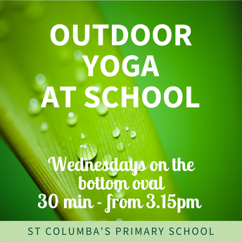 Outdoor Yoga at St Columba's