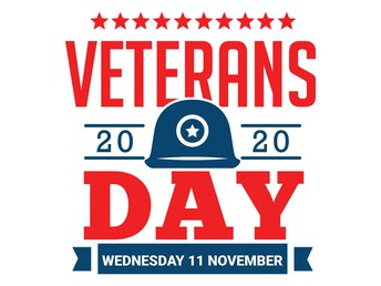 Veteran's Day November 11th!