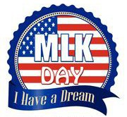 MLK Day - Monday, January 20th