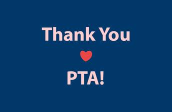 Thank you, PTA!