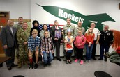 Oak Harbor Middle School Honors Veterans in an Extra Special Way!