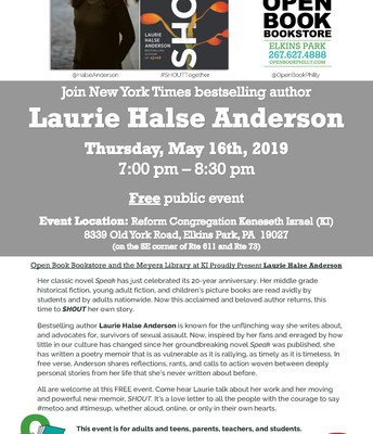 Laurie Halse Anderson   Author