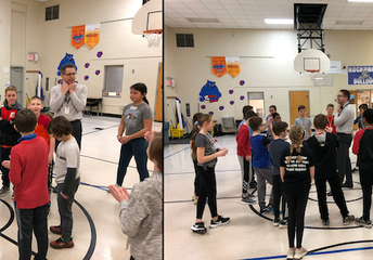 5th Graders Begin Dancing Classrooms