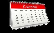 Upcoming VSM Schedule