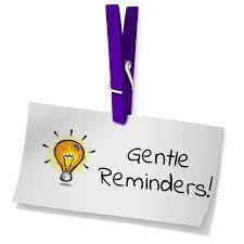 Gentle Reminder