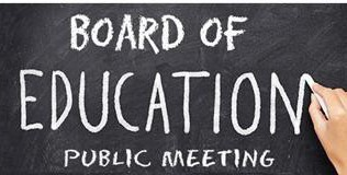 BOARD OF EDUCATION MEETING THURSDAY, FEBRUARY 25TH WILL BE IN-PERSON