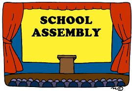 Virtual School Assembly, Friday, April 10th!