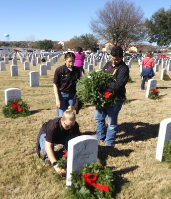 JROTC-Wreaths Across America