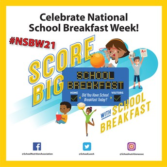 National School Breakfast Week 2021!