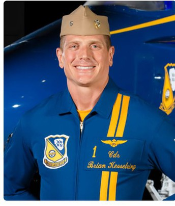 **NEW** Visit with Blue Angels Commander Brian Kesselring