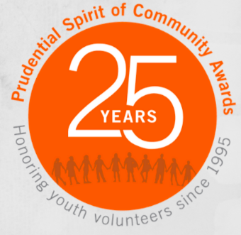 Nominate an Outstanding Student for the Prudential Spirit of Community Award