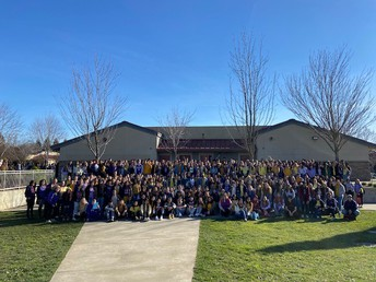 PGHS Wears Yellow & Purple to Honor Gina