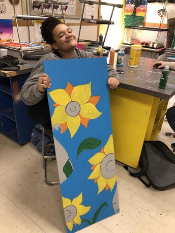 Fine Arts Student of the Month