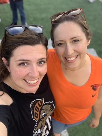 Emily Pedersen and Liz Miller