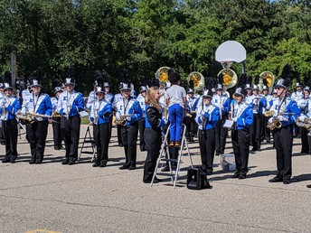 Former Morgan Rockets in the Band!