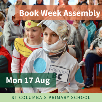 Book Week Assembly - Mon 17 Aug
