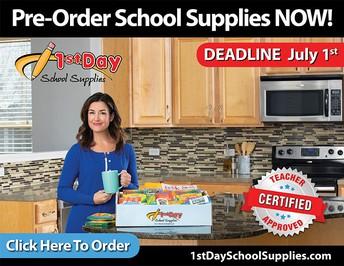 Pre-Order School Supplies