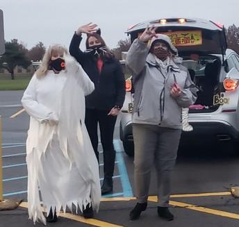 Mrs. Wright, Mrs. Bojczuk, and Mrs. Pimpo