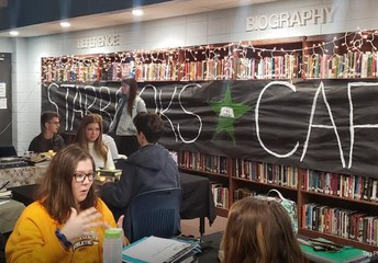 "GHS Media Center Hosts ""Starbook Cafe"""