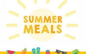 Summer meals update