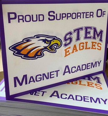 New STEM Yard Signs Available!