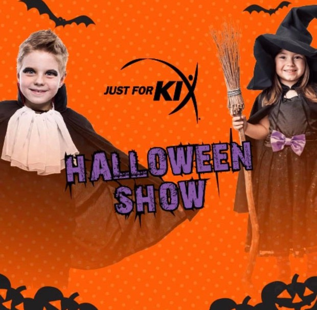 Image result for just for kix halloween graphic