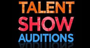 Talent Show Auditions Thursday
