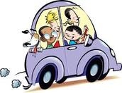 Carpool Lane - Arrival and Dismissal Procedures