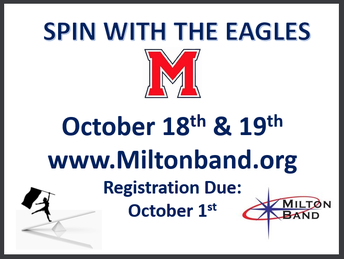 Spin with the Eagles - Register by Oct 1st  (Event is 10/18 & 10/19)