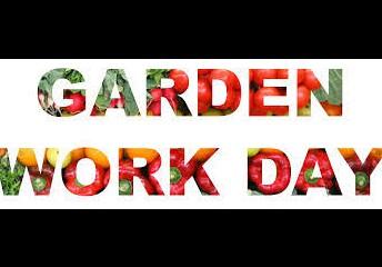 ¡Guarde la fecha para nuestro próximo día de trabajo en el huerto!