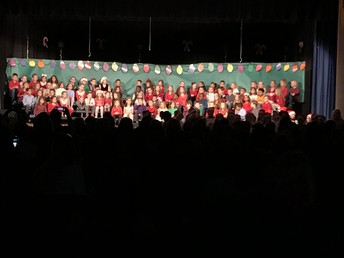 Kindergarten Holiday Show