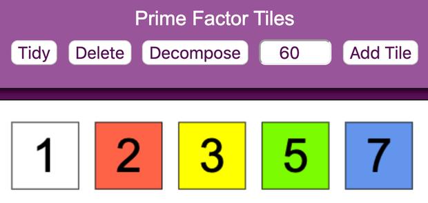 Prime Factor Tiles