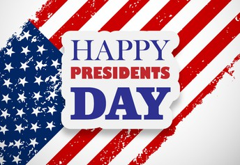 President's Day on Monday, the 17th! NO SCHOOL TODAY!