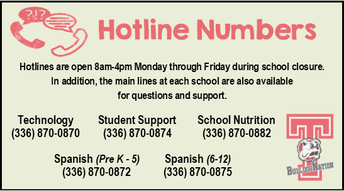 For Parents: Hotline Numbers