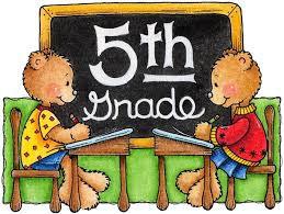 Fifth Grade Information