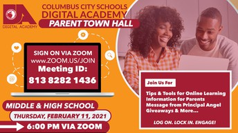 CCSDA Middle & High School Parent Town Hall Meeting