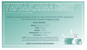 FAFSA/CADAA Workshop!