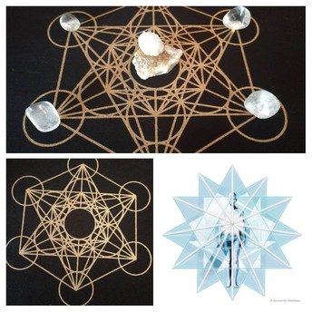 Develop your own Crystal Grid, Metatron's Cube