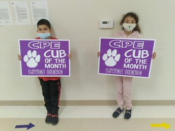 CPE Cubs of the Month