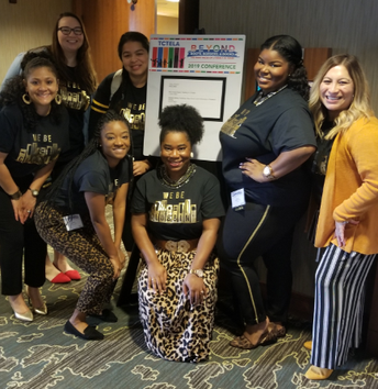 Albright Middle School English Language Arts and Reading (ELAR) teachers and specialist presented at the 2019 Texas Council of Teachers of English Language Arts Conference.