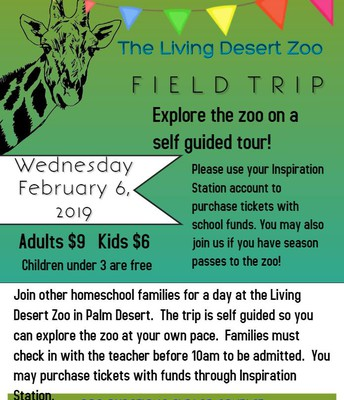 The Living Desert Zoo! February 6, 2019