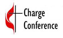 Charge Conference: Sunday, October 20th