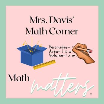 Mrs. Davis - Math Specialist