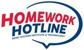 Rose Hulman Homework Hotline