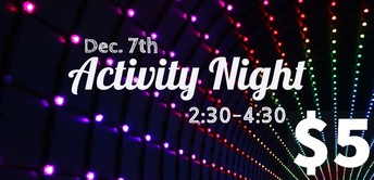 Activity Night!!
