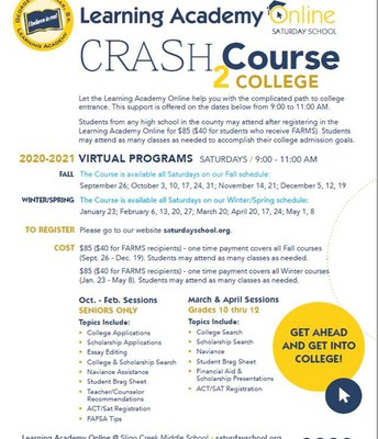 Crash Course 2 College