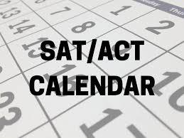 SAT/ACT Dates
