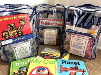 Pre-K Learning Back Packs