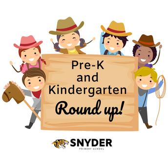 Pre-K & Kindergarten Students